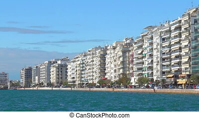 Nikis Avenue in Thessaloniki - Sea-front Nikis Avenue in...