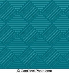 sea Green line background vector illustration. seamless...