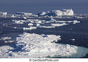 Sea Ice in the Weddal Sea - Antarctica