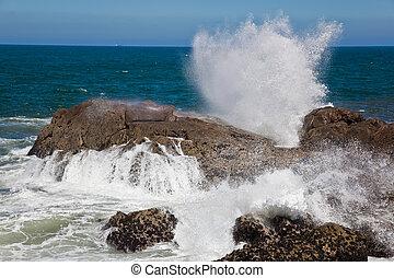 Sea in Galicia, Spain