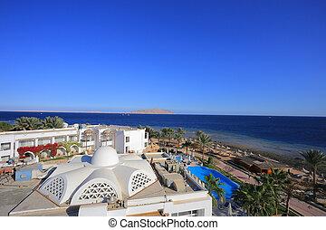 Sea in Sharm el Sheikh