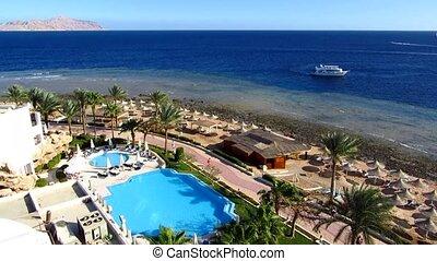 Sea in Sharm el-Sheikh