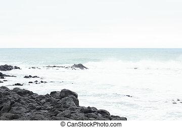 Sea in Winter