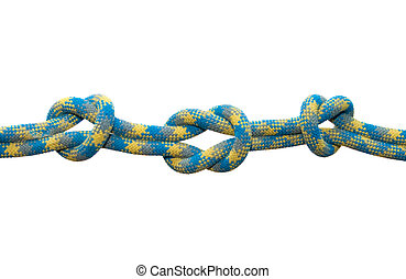 Sea knot. Straight with controls knot.