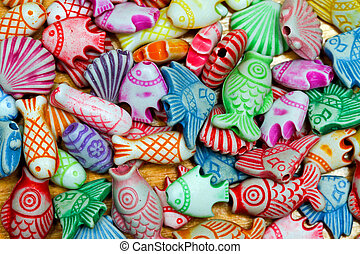 Sea life beads