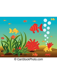 Sea Life - The underwater world and its inhabitants