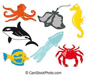 Sea Life with Fish