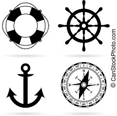 Sea maritime icon