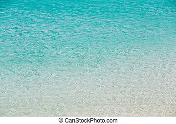 Sea Ocean Blue Water Clear Background