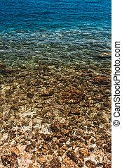 Sea Ocean Blue Water Clear Background
