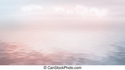 Sea Ocean Vector Background - Water vector background in the...