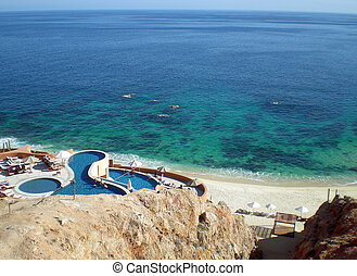 Sea of Cortez - view of Sea of Cortez Mexico from resort...
