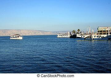 Sea of Galilee (Kineret lake), Isra