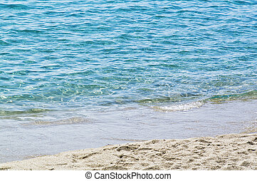 Sea of Sardinia in the background