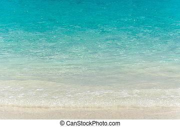 sea on the sand beach
