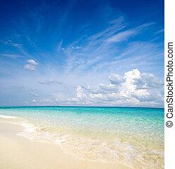 sea - beautiful beach and tropical sea