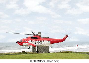 sea rescue hover