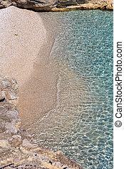 Sea ripple water surface