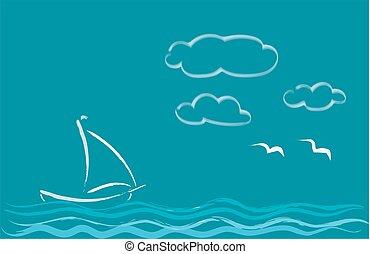 Sea romance.