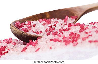 Sea salt for spa