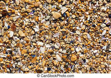 Sea sand texture