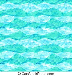 Sea seamless pattern, vector illustration