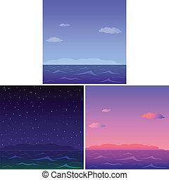 Sea, set