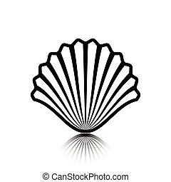 Sea shell as an icon