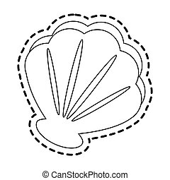 sea shell icon image
