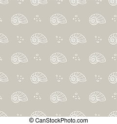 sea shells pattern