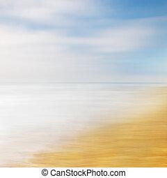 Sea Sky Abstract