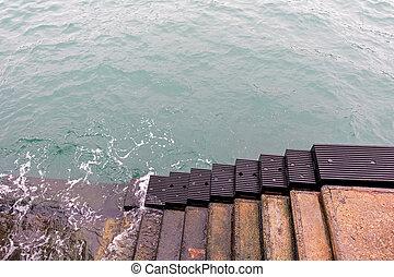 Sea Stairs Bumper
