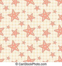 sea star background