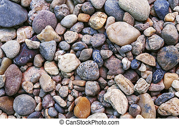Sea stone background