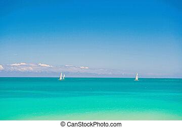 Sea summer concept, Antigua
