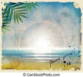 sea - summer journey