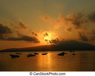 Sea sunset 2