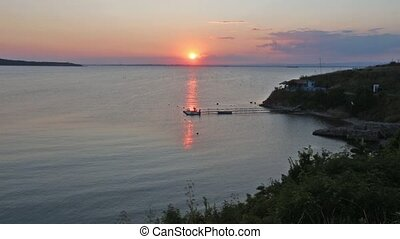 Sea Sunset Coast View
