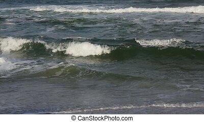 Sea Surf Waves. Background.