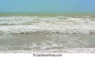 Sea surf. Waves