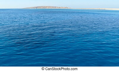 sea surface, shooting from boat