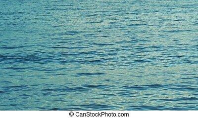 The ocean in a gentle breeze
