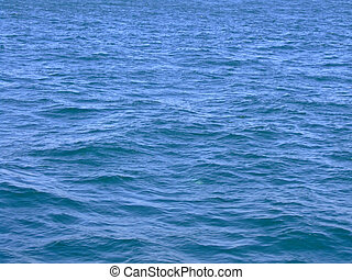 Sea surface - Water surface of a sea