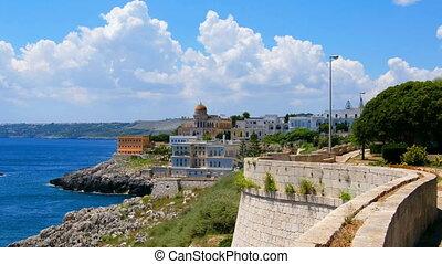 sea terrace village Santa Cesarea Terme Salento Apulia Lecce...