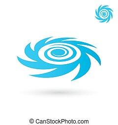 Sea tornado icon