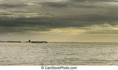 sea traffic on the Bosporus