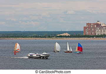 transport in the Gulf of Finland