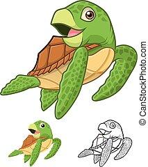 Sea Turtle Cartoon - High Quality Sea Turtle Cartoon...