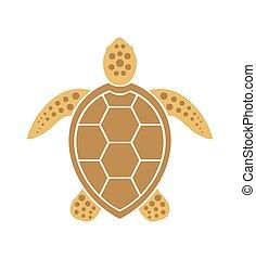 9c9891037 Ocean turtle icon. sea graphic simple animal logo. Ocean turtle icon ...