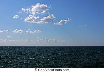 sea under blue sky